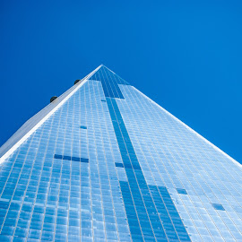 One World Trade Center by Ginny Anderson - Buildings & Architecture Office Buildings & Hotels ( building, world trade center, rebuild, 911, tall,  )