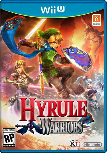 Hyrule Warriors - box art