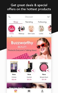 App YouCam Shop - World's First AR Makeup Shopping App APK for Kindle