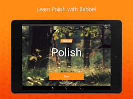 Screenshot of Learn Polish with Babbel