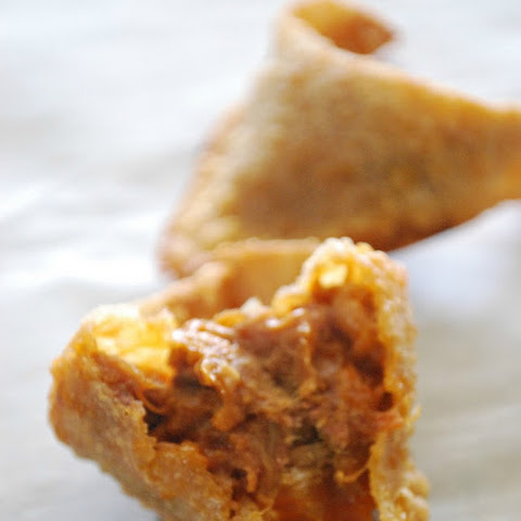 Pulled Pork BBQ Fried Wonton