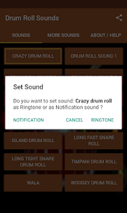Drum Roll Sounds - screenshot