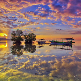 Lombok Landscape by Made Thee - Landscapes Sunsets & Sunrises