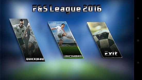 Football and soccer League2016 - screenshot
