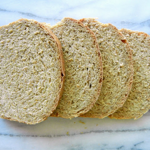 Applesauce Bran Bread