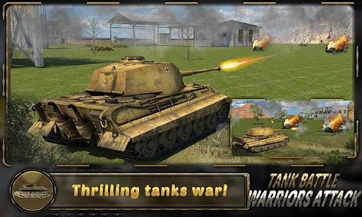 Tank Battle Warriors Attack - screenshot