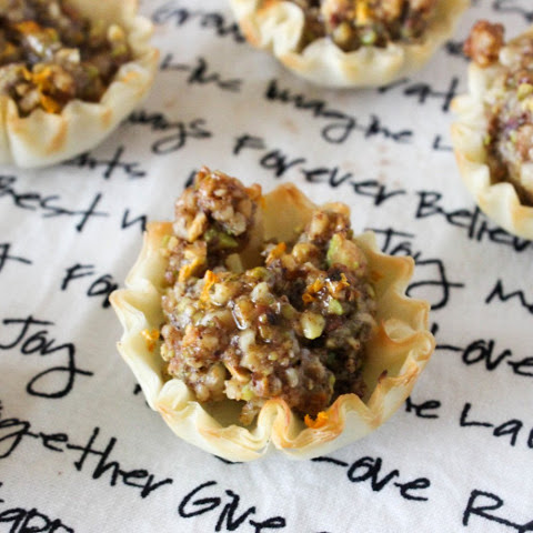 Baklava Tartlets [Vegan]