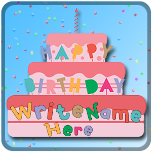 Download Name On Happy Birthday Cake for Windows Phone