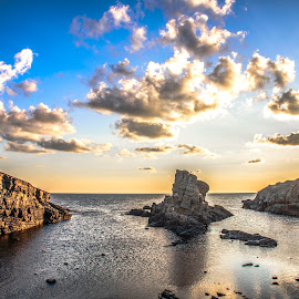 NEW  DAY by Venelin Dimitrov - Landscapes Waterscapes ( water, sky, outdoor, summer, sea, tourism, rock, landscape, light, coast )