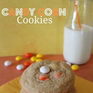 M&M's Candy Corn Cookie