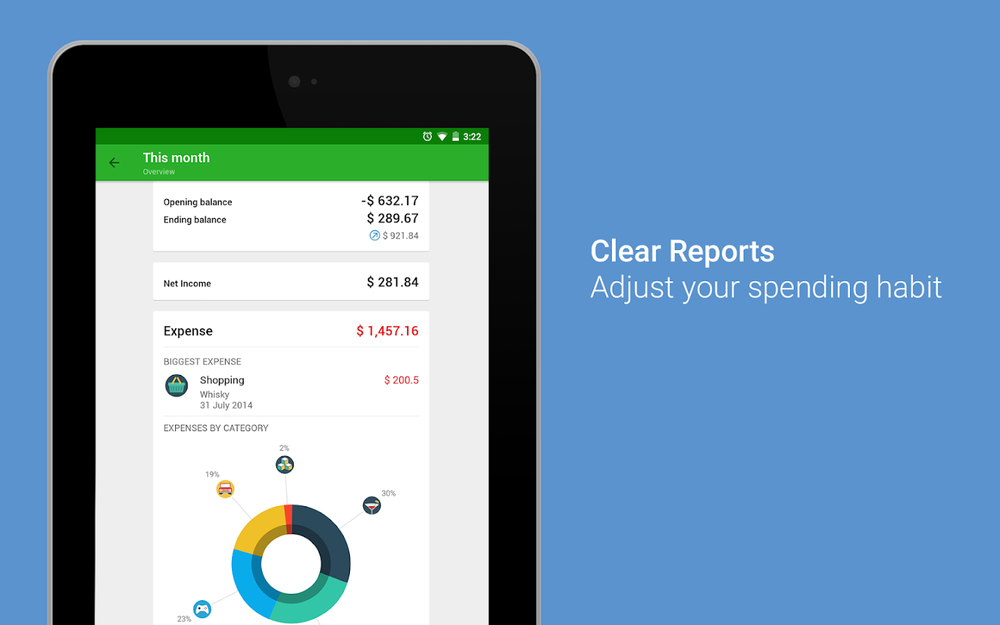 Money Lover: Budget, Expense, Bill, Finance & Save Screenshot 18