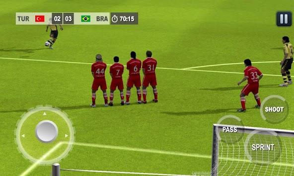 Play Real Football 2015 Game apk screenshot