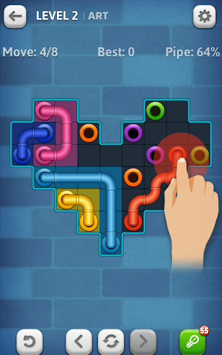 Line Puzzle: Pipe Art For PC