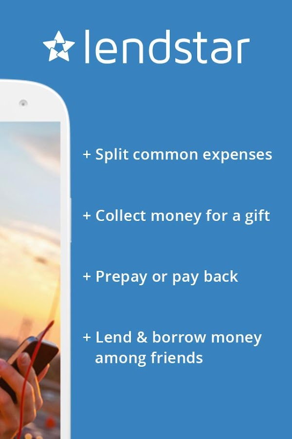 Lendstar – Send & share money Screenshot 1