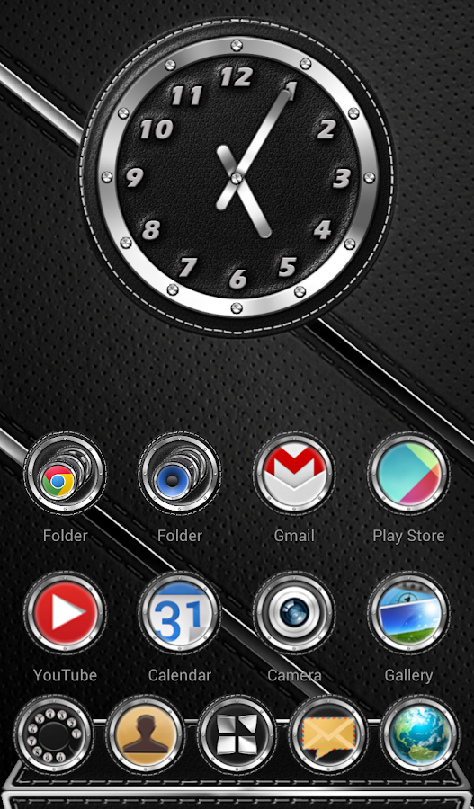 Next Launcher 3D Theme Bespoke Screenshot