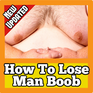 how to lose man tits