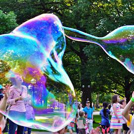 Water Balloon by Naveen Naidu - City,  Street & Park  Street Scenes