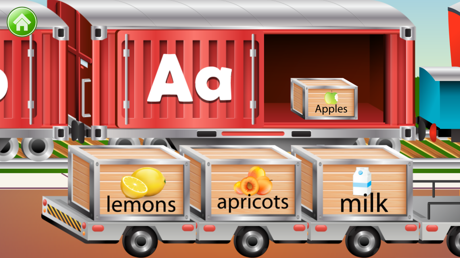 Kids ABC Letter Trains Screenshot 1