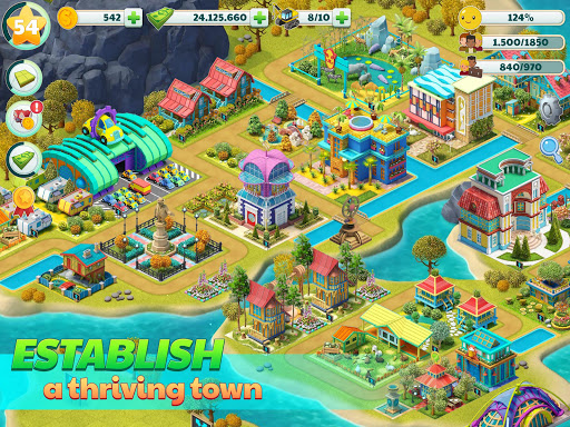 Town City - Village Building Sim Paradise Game 4 U screenshot 7