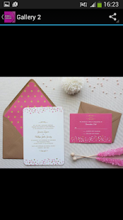 Wedding Invitations - screenshot