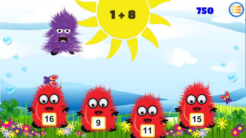 android Times Tables: Boo vs Monsters Screenshot 1
