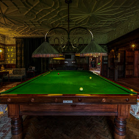 Wightwick Manor by Corin Spinks - Buildings & Architecture Other Interior ( indoors, national trust, table, snooker, manor,  )