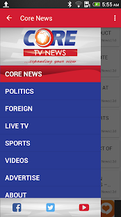 Core TV News - screenshot
