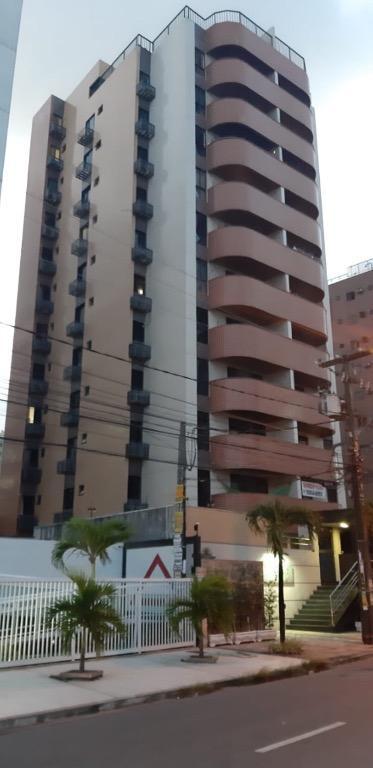 Apartamento com 3 dormitórios para alugar, 120 m² por R$ 1.400,00/mês - Manaíra - João Pessoa/PB