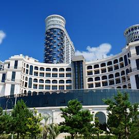 Batumi, Georgia by Eugenija Seinauskiene - Buildings & Architecture Office Buildings & Hotels
