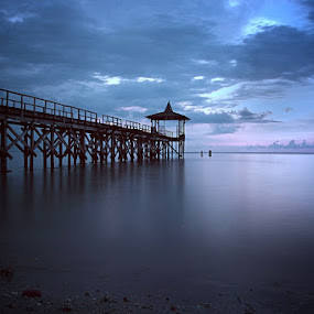 port of silence by Mukti Echwantono - Landscapes Waterscapes