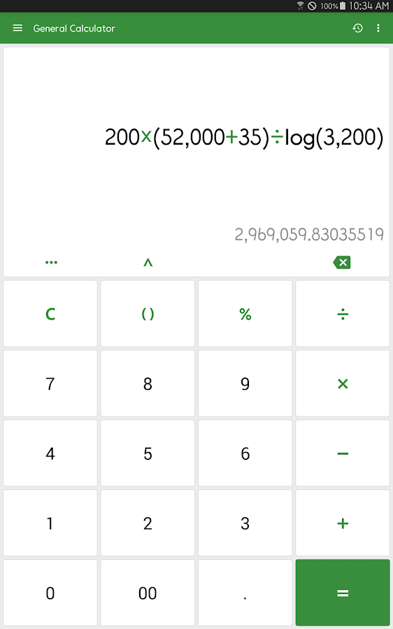 ClevCalc - Calculator Screenshot 8