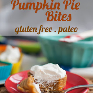 {Recipe} Paleo Pumpkin Pie Bites