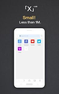 XBrowser - Schnell, handlich Screenshot