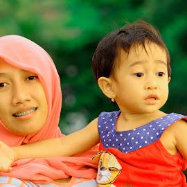 My Sister by Rizal Marsa - Babies & Children Child Portraits