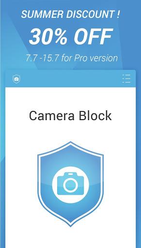 Camera Block -Anti spy-malware Screenshot