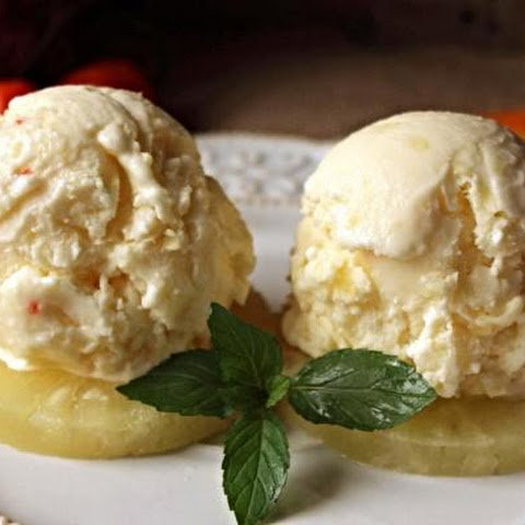 Pineapple Habanero Ice Cream