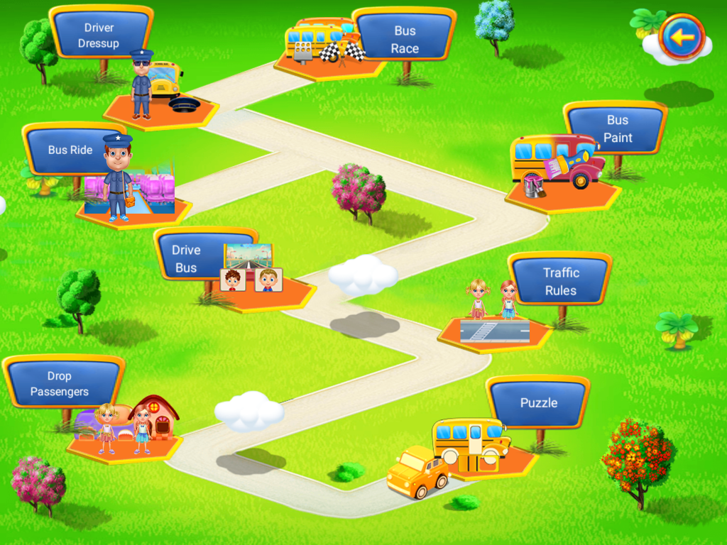 Wheels On The Bus Activities Screenshot 1