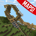 App Roller Coaster Minecraft Maps apk for kindle fire