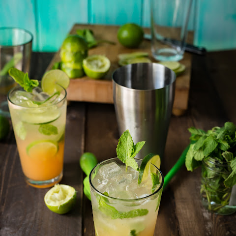 POG Mojitos ( Passion-Orange-Guava)