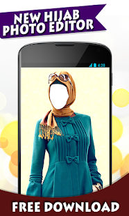 Hijab Women Photo Editor New - screenshot