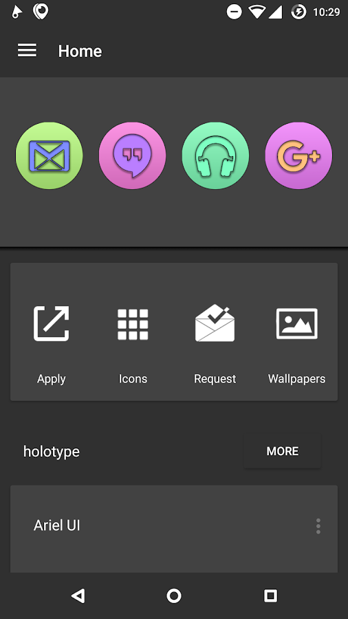 Doug UI - Cartoon Icon Pack Screenshot