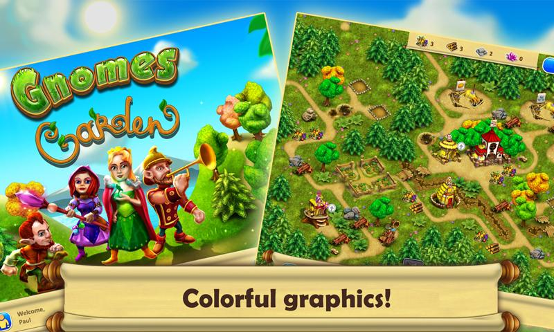 Gnomes Garden HD Screenshot 0