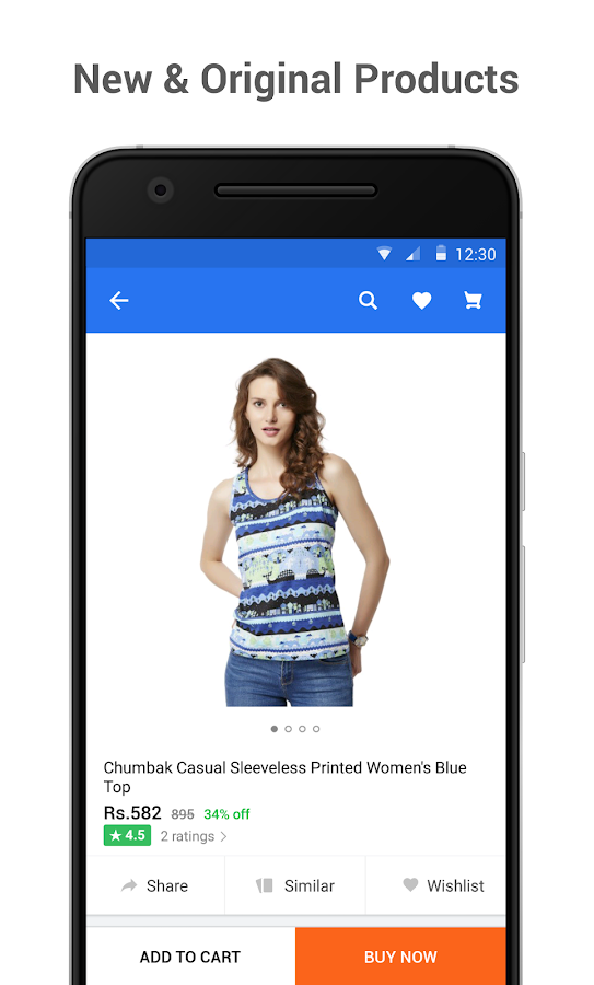 Flipkart Online Shopping App Screenshot 2