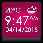 App Night Stand Weather Clock APK for Windows Phone