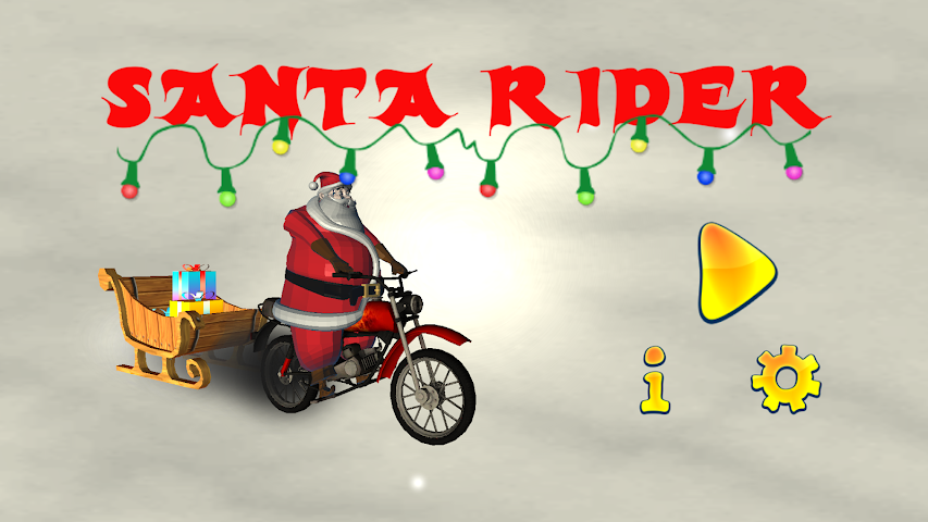 android Santa Rider Screenshot 1
