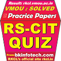 RSCIT Quiz VMOU Solved Papers