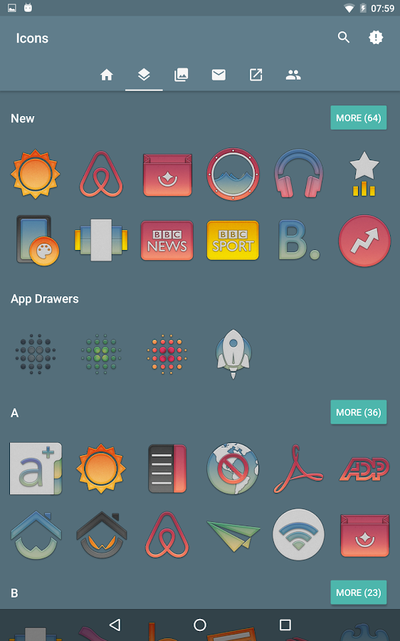 Redux Beta - Icon Pack Screenshot 7