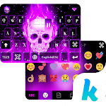 Skeleton Kika Emoji Keyboard 1.0 Apk