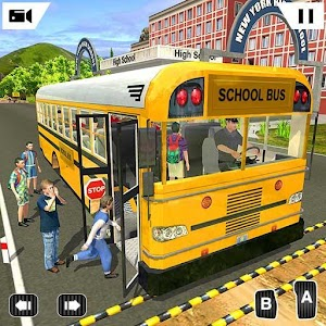 Offroad School Bus Driving Simulator 2019 For PC / Windows 7/8/10 / Mac – Free Download