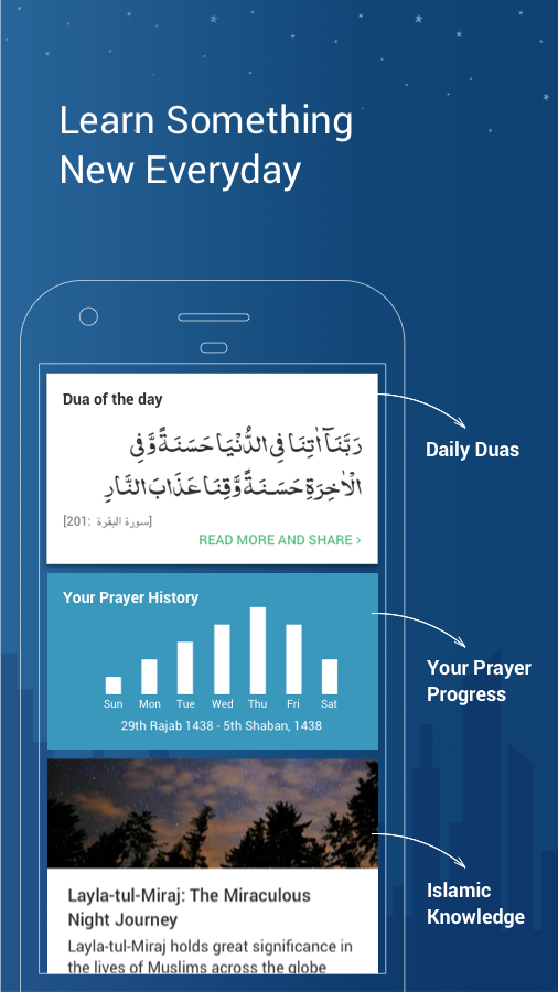 Athan: Prayer Time, Quran, Azan and Qibla Compass Screenshot 3